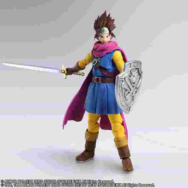 cattura di schermo del gioco DRAGON QUEST® III: The Seeds of Salvation BRING ARTS - Hero