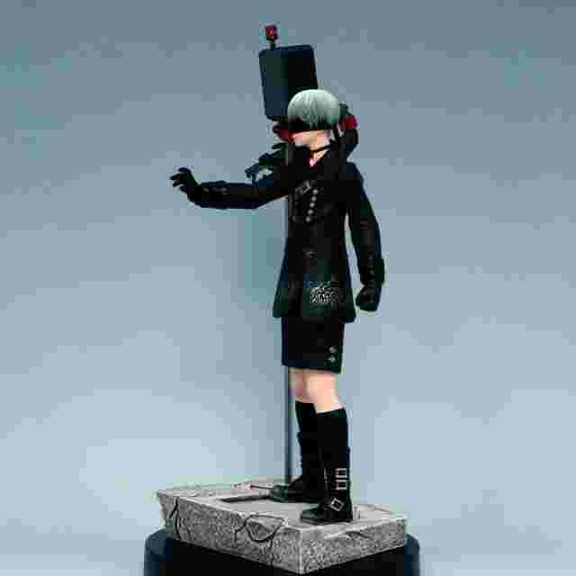 Capture d'écran du jeu Figurine NIER: AUTOMATA CHARACTER [YORHA NO.9 TYPE S]