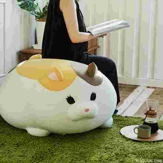 Capture d'écran du jeu FINAL FANTASY XIV GIANT CUSHION - FAT CAT