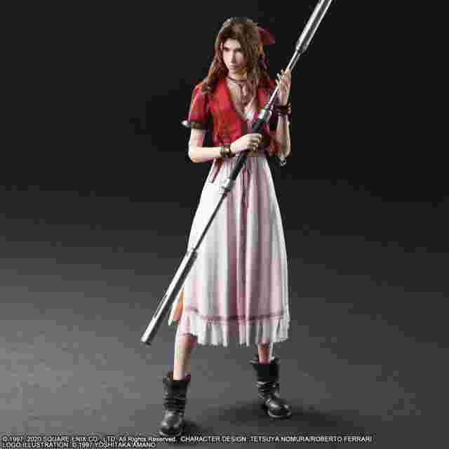 Screenshot for the game FINAL FANTASY® VII REMAKE PLAY ARTS -KAI- ™ AERITH GAINSBOROUGH [ACTION FIGURE]