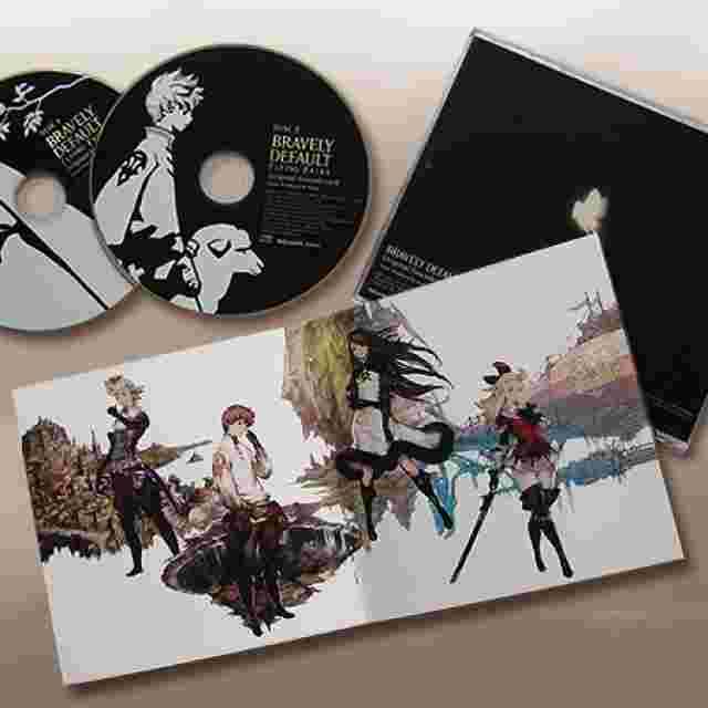 Capture d'écran du jeu MUSIQUES - BRAVELY DEFAULT FLYING FAIRY OST [MUSIC]