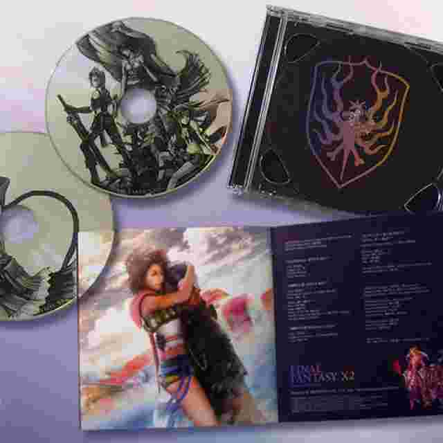 Screenshot for the game Final Fantasy X-2 Original Soundtrack [Music Disc]