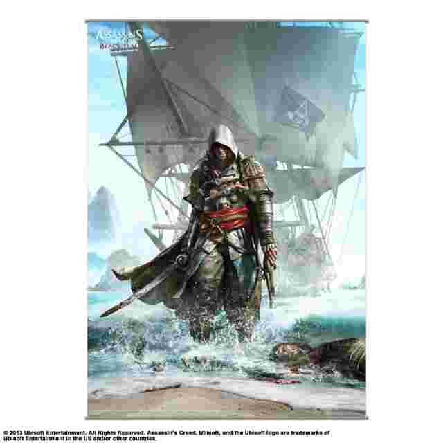 cattura di schermo del gioco WALLSCROLL POSTER ASSASSIN'S CREED IV BLACK FLAG - VOL 1