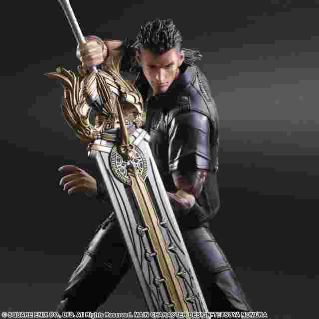 Screenshot for the game FINAL FANTASY XV: PLAY ARTS KAI - Gladiolus