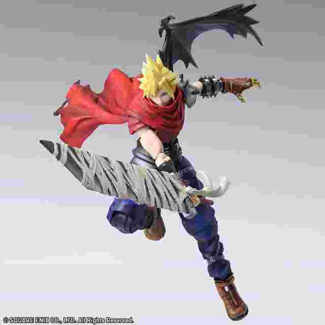 Capture d'écran du jeu FINAL FANTASY BRING ARTS™ Cloud Strife Another Form Variant SQUARE ENIX Limited Version