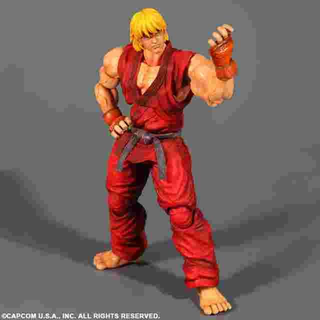 Capture d'écran du jeu FIGURINE PLAY ARTS KAI - SUPER STREET FIGHTER IV - [KEN]