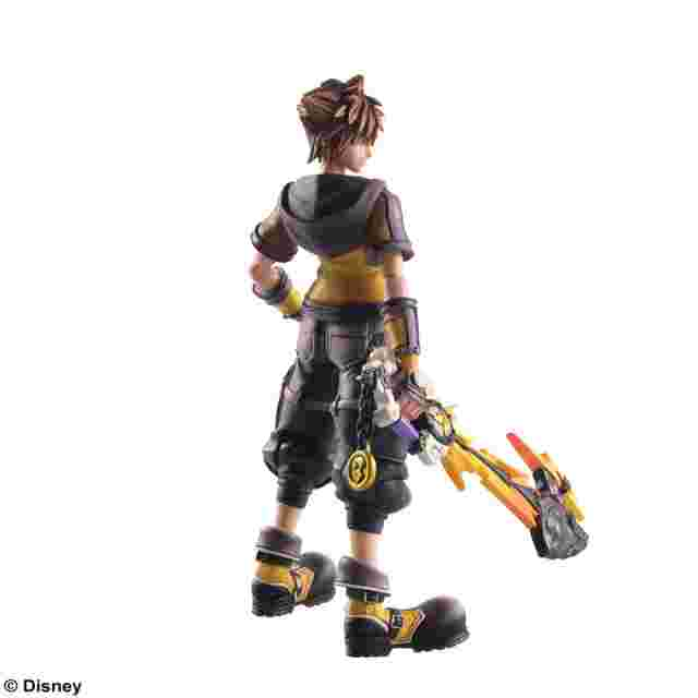 Capture d'écran du jeu KINGDOM HEARTS III: BRING ARTS- SORA -GUARD FORM VER.