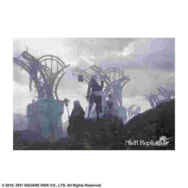 Screenshot for the game NIER REPLICANT VER.1.22474487139... JIGSAW PUZZLE - 1000 PIECE B