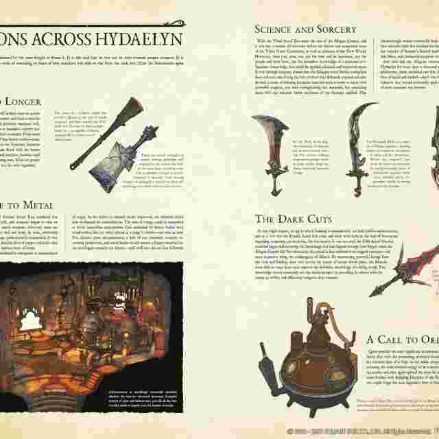 Screenshot for the game ENCYCLOPAEDIA EORZEA ~THE WORLD OF FINAL FANTASY XIV~ VOLUME II [BOOK]