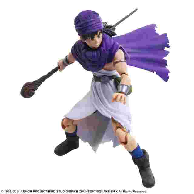 Capture d'écran du jeu DRAGON QUEST V HAND OF THE HEAVENLY BRIDE BRING ARTS - HERO SQUARE ENIX LIMITED