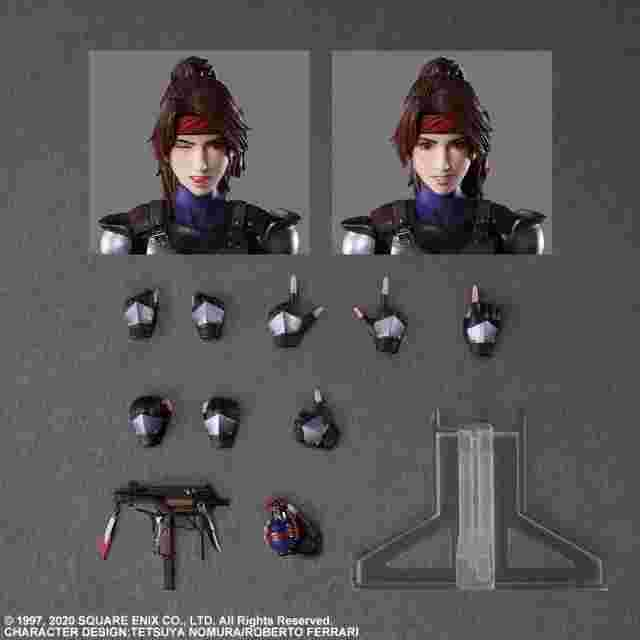 Screenshot for the game FINAL FANTASY® VII REMAKE PLAY ARTS KAI™ Action Figure -JESSIE & MOTORCYCLE SET [ACTION FIGURE]
