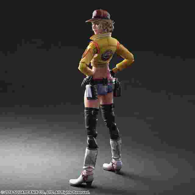 Screenshot for the game FINAL FANTASY® XV PLAY ARTS -KAI- CINDY AURUM [ACTION FIGURE]