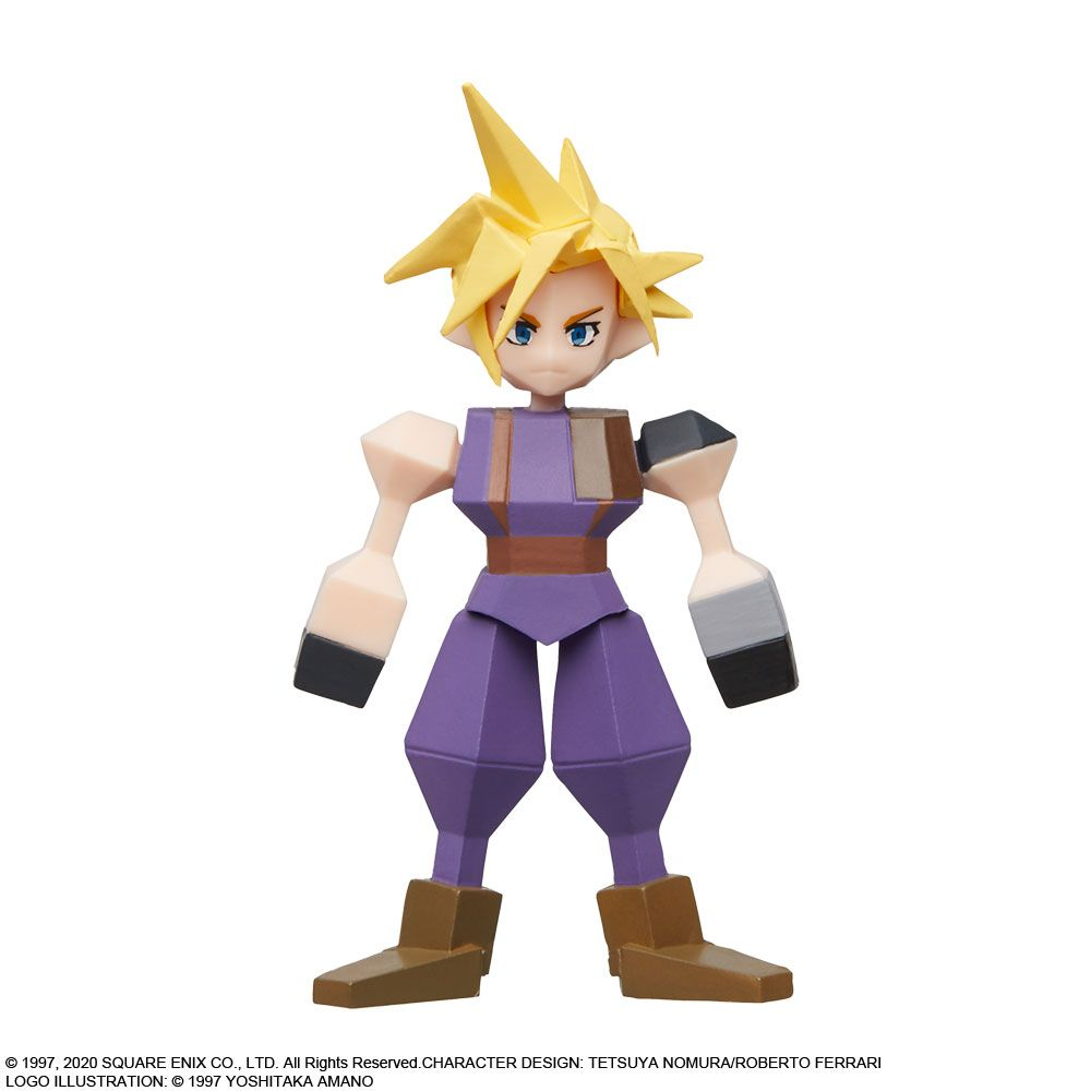 Final Fantasy VII 7 Remake Red XIII Polygon Figure Square Enix