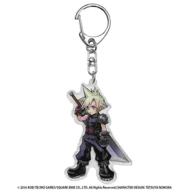 Screenshot for the game DISSIDIA FINAL FANTASY Acrylic Keychain Cloud