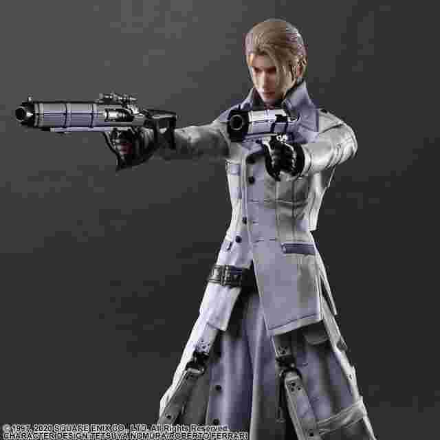 Screenshot for the game FINAL FANTASY® VII REMAKE PLAY ARTS KAI™ Action Figure - RUFUS SHINRA [ACTION FIGURE]