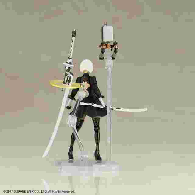 Captura de pantalla del juego NIER:AUTOMATA PLASTIC MODEL KIT FLIGHT UNIT HO229 TYPE-B & 2B (YORHA NO. 2 TYPE B)