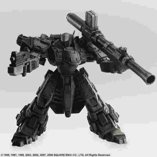 Screenshot for the game FRONT MISSION STRUCTURE ARTS 1/72 Scale Plastic Model Kit Series Vol. 2 (Display of 4)