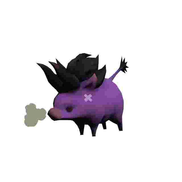 Screenshot des Spiels FINAL FANTASY XIV Baby Behemoth Plush