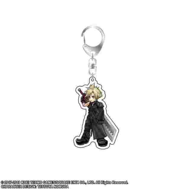 Screenshot for the game DISSIDIA FINAL FANTASY Acrylic Key Holder Vol.2 - Cloud