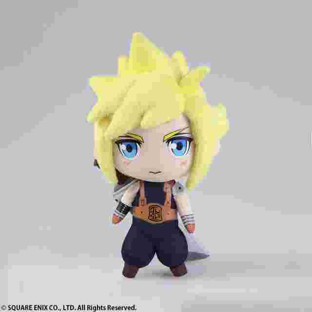 Capture d'écran du jeu FINAL FANTASY MINI PLUSH FINAL FANTASY VII CLOUD
