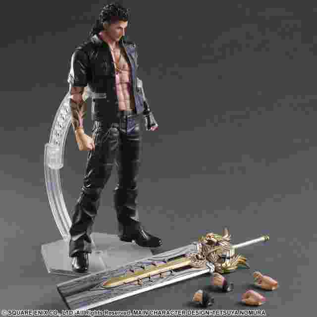 Screenshot des Spiels FINAL FANTASY XV: PLAY ARTS KAI [Gladiolus]