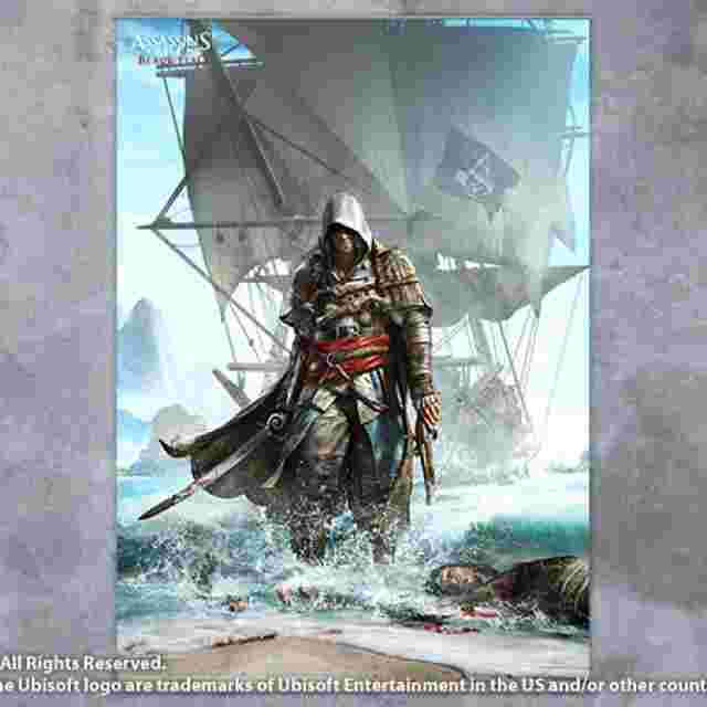 cattura di schermo del gioco ASSASSIN´S CREED IV BLACK FLAG [Wall Scroll Vol.1]