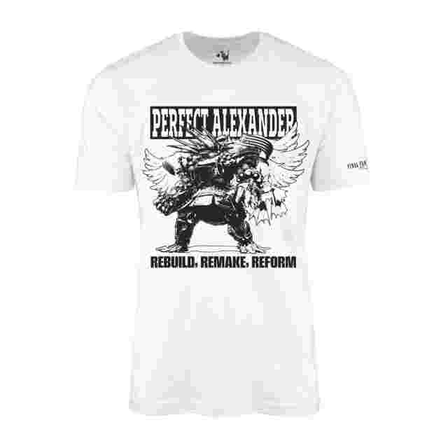 Screenshot for the game FINAL FANTASY XIV T-Shirt - Perfect Alexander - White (S)