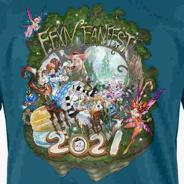 Screenshot for the game FINAL FANTASY XIV FAN FEST 2021 T-Shirt - WHIMSY (XXL)