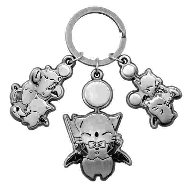 cattura di schermo del gioco Final Fantasy XIV Orchestra Concert Moogle Band Key Holder