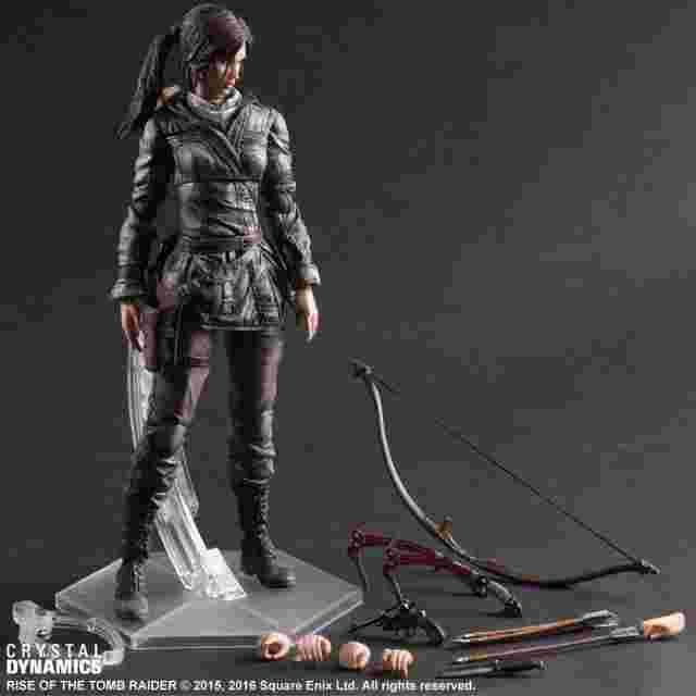Screenshot for the game Figurine Rise of the Tomb Raider PLAY ARTS KAI [Lara Croft]