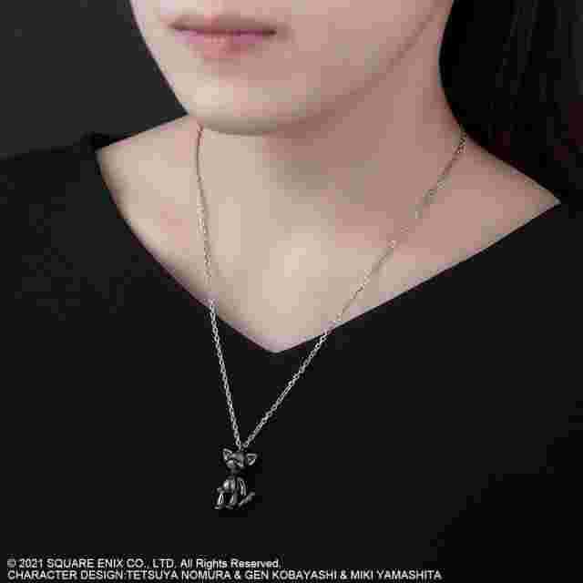 Screenshot for the game NEO: THE WORLD ENDS WITH YOU ARTICULATED SILVER NECKLACE - MR. MEW