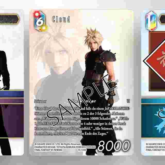 Screenshot des Spiels FINAL FANTASY TRADING CARD GAME: STARTER-SET FÜR ZWEI SPIELER AVALANCHE VS SHINRA [DEUTSCHE AUSGABE]