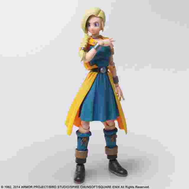 cattura di schermo del gioco DRAGON QUEST V HAND OF THE HEAVENLY BRIDE BRING ARTS - BIANCA SQUARE ENIX LIMITED VER.
