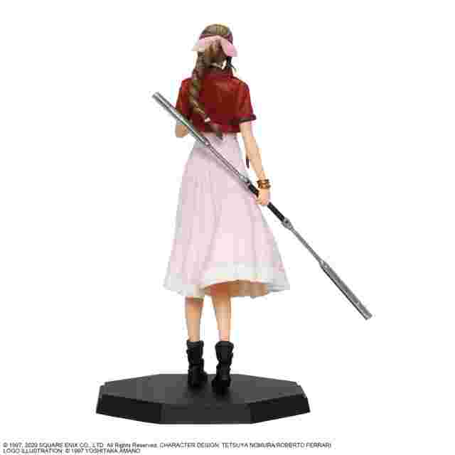 Captura de pantalla del juego FINAL FANTASY VII REMAKE STATUETTE - AERITH GAINSBOROUGH
