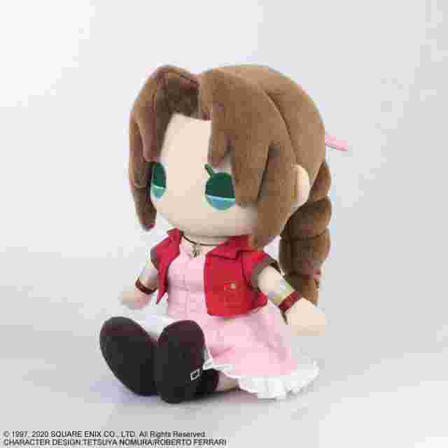 Screenshot for the game FINAL FANTASY VII REMAKE  PLUSH - AERITH GAINSBOROUGH