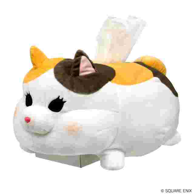 Screenshot for the game FINAL FANTASY XIV Fat Cat Tissue Box Cover