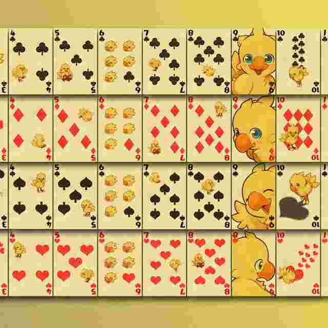 Screenshot for the game Chocobo Playing Cards