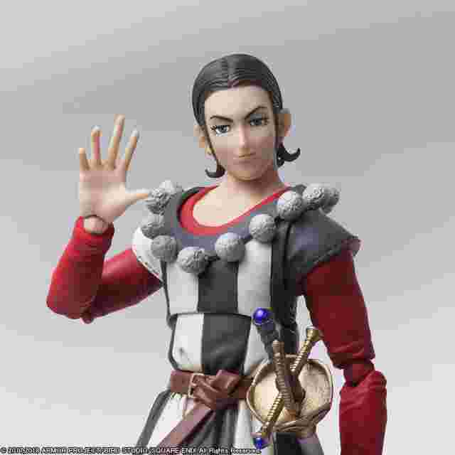 Capture d'écran du jeu DRAGON QUEST XI : Les Combattants de la destinée BRING ARTS Sylvando et Théo