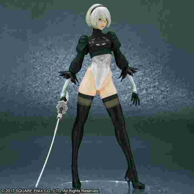 Screenshot for the game NIER:AUTOMATA® 2B (YORHA NO. 2 TYPE B) [DELUXE VERSION] - REISSUE BY FLARE