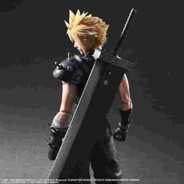 Screenshot for the game FINAL FANTASY VII REMAKE PLAY ARTS KAI ACTION FIGURE - CLOUD STRIFE VER. 2