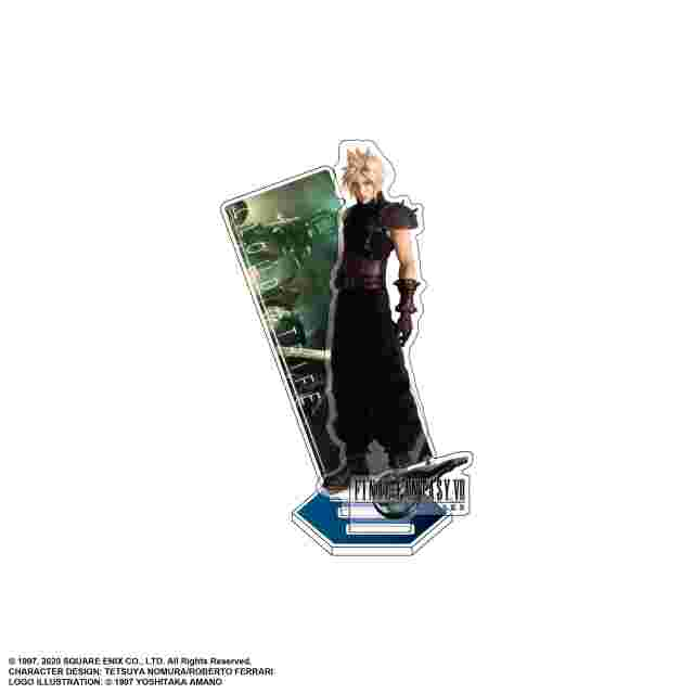 Captura de pantalla del juego FINAL FANTASY VII REMAKE ACRYLIC STAND - CLOUD STRIFE