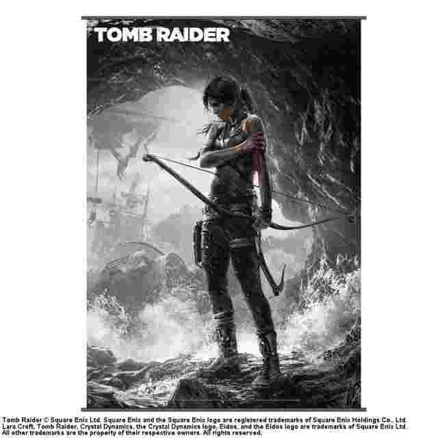 Capture d'écran du jeu WALLSCROLL TOMB RAIDER VOL 2 (POSTER TISSU)