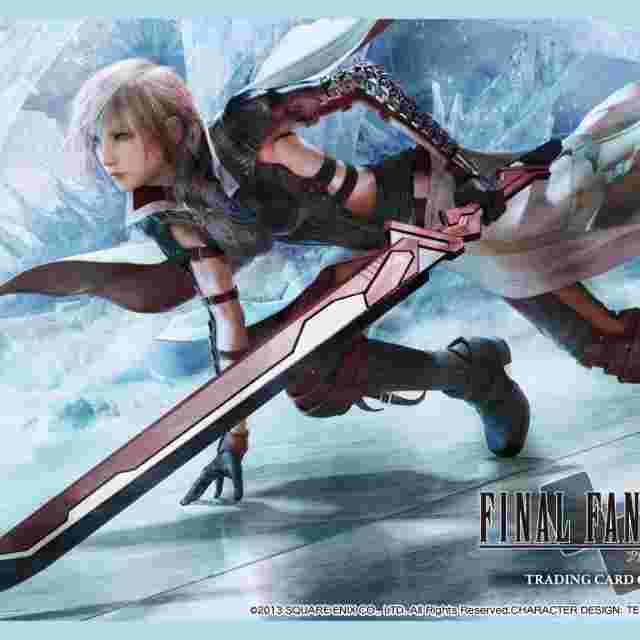 Screenshot for the game FINAL FANTASY TRADING CARD GAME PREMIUM SLEEVES - LIGHTNING RETURNS - LIGHTNING