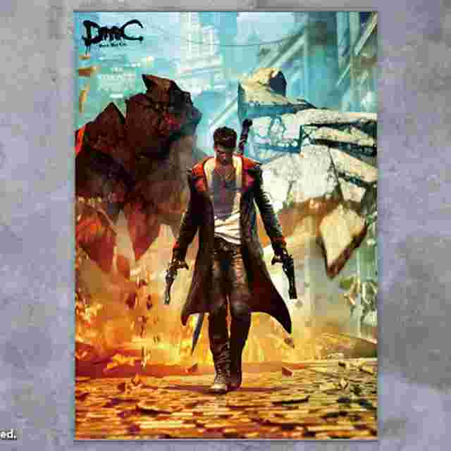 Screenshot for the game DEVIL MAY CRY [Wall Scroll Vol.1]