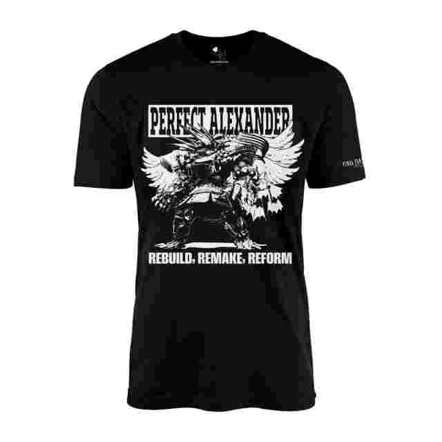 Screenshot for the game FINAL FANTASY XIV T-Shirt - Perfect Alexander - Black (L)