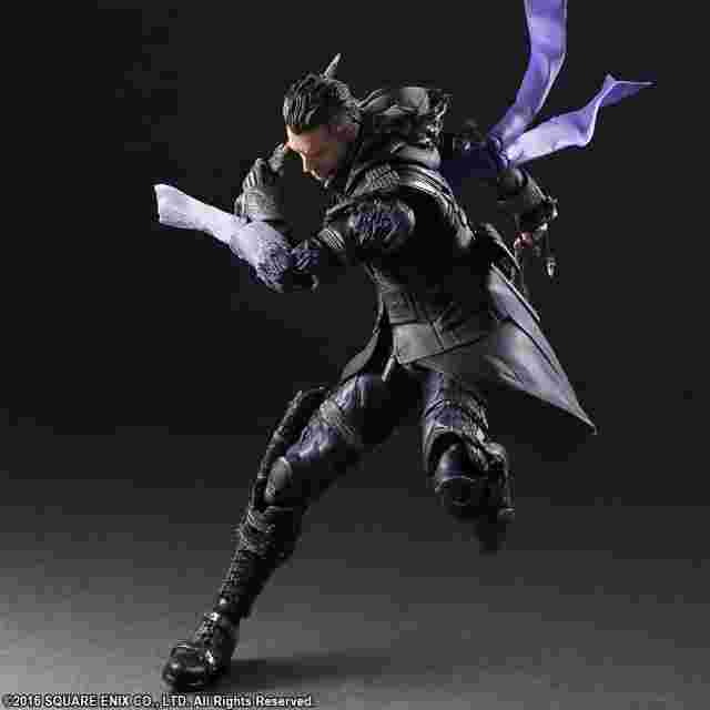 Captura de pantalla del juego KINGSGLAIVE: FINAL FANTASY XV PLAY ARTS KAI [Nyx Ulric]
