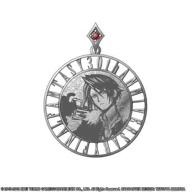 Screenshot for the game DISSIDIA FINAL FANTASY Silver Coin Pendant - SQUALL LEONHART