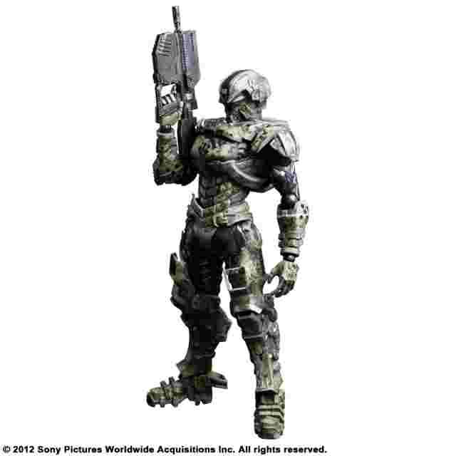 Capture d'écran du jeu FIGURINE STARSHIP TROOPERS INVASION PLAY ARTS KAI - [HERO] (MAJOR HENRY VARRO)