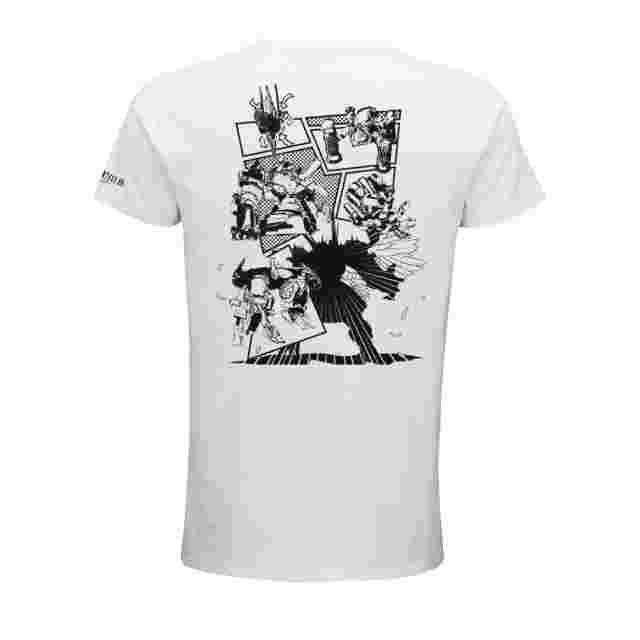 Capture d'écran du jeu FINAL FANTASY XIV T-Shirt - PERFECT ALEXANDER WHITE (L)
