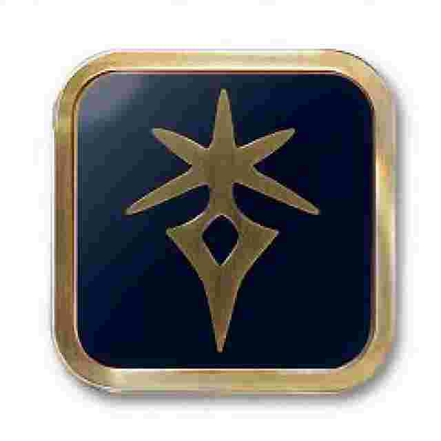 Screenshot for the game FINAL FANTASY® XIV: JOB ICON DARK KNIGHT [PIN]